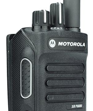 摩托罗拉XIR P6600数字防爆对讲机